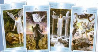 immagine raffigurante 4 carte degli angeli
