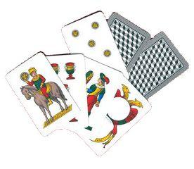 immagine raffigurante 7 carte di briscola